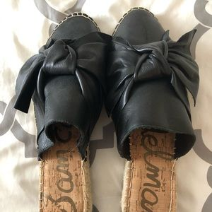 Mule slide style espadrille- never worn